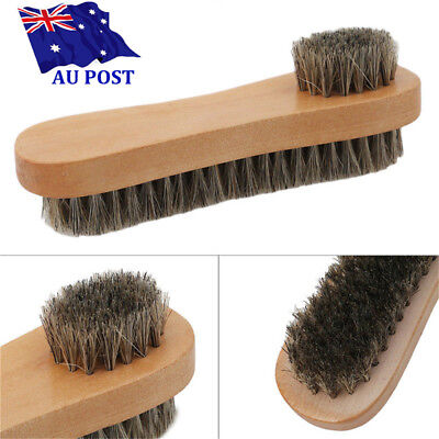 Bristle  Hair Shoe Brush Double Sided Vamp Cleaning Tool Shoes Protector Brush8#