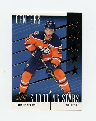 19/20 Upper Deck Series 1 Shooting Stars Centers Defenders Right Wingers