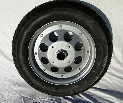 2 Trailer Wheels Tires With Steel Split Rims Motorcycle Boat Utility Trailer NEW