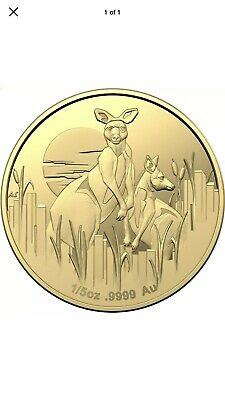 "2020 ""Kangaroos at Dawn"" new series  Gold Proof Coin – only secured by Ballot!"