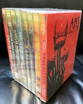 AMERICAN HORROR STORY The Complete Series 1-8 DVD Set NEW 1 2 3 4 5 6 7 8
