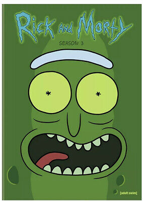 Rick and Morty: Season 3  (DVD, 2-Disc Set) - Brand New Sealed