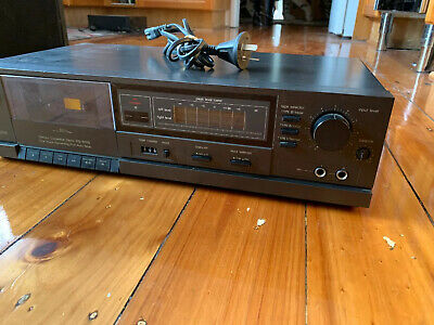 TECHNICS CASSETTE DECK RS-B105 Tested Working