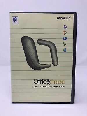 Microsoft Office Mac 2004 - Student And Teacher Edition - 3 User Licenses