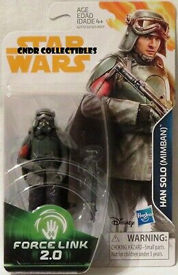"Star Wars Force Link 2.0 SOLO STORY Movie 3.75"" figure HAN SOLO MIMBAN (Wave 4)!"