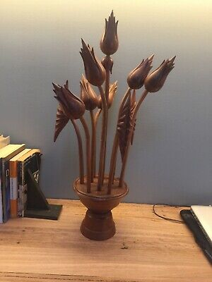 Retro Mid-Century Vintage Danish - Timber Flowers