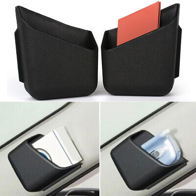 2Pcs Universal Car Accessories Glasses Organizer Storage Box Holder Black Hot