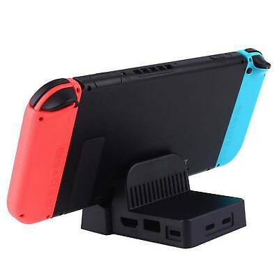 For Nintendo Switch Replacement Dock Docking Station Mount Cooling Base Cutout