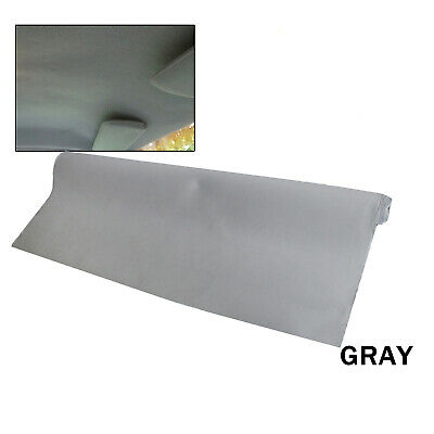 3M x 1.51M Upholstery Headliner Roof Fabric Gray Foam 3mm For Auto UTE 4WD SUV