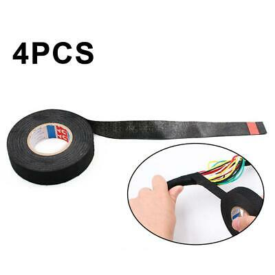 4pcs Insulating Tape Strong Sticky Adhesive Tape For Dashboard Wiring Harness