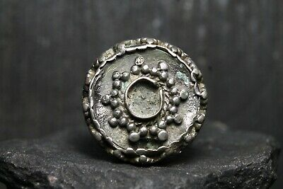 Rare Ancient Viking Decoration, Antique Bronze Artifact, 6th-11th Century AD.