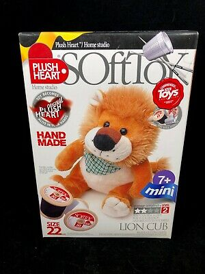 PLUSH HEART HOME STUDIO / SOFT TOY – 22cm LION CUB