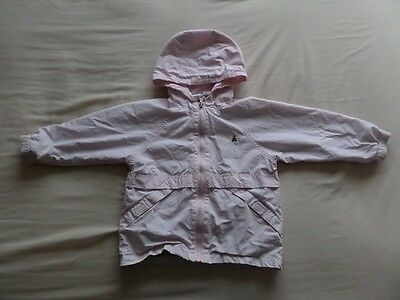 Baby Gap Girls Pale Pink Hooded Jacket Size 3 Years