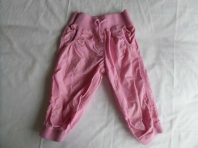 E-Vie Angel Girls Pink Trousers Size 4-5 Years
