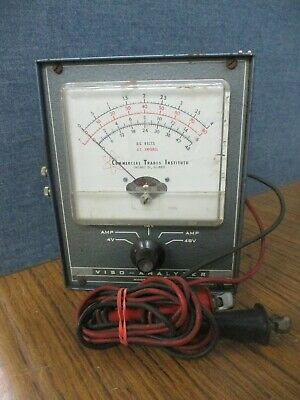 Vintage Viso Analyzer Commercial Trade Institute Model AM-100