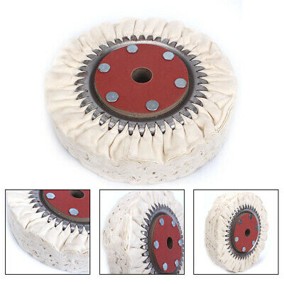"""3//32/"""" Shank Loose Leaf Buffing Wheels For Abrasives Hobby stitched cotton wheel"""