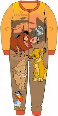 Disney Lion King Pyjamas Childrens Kids One Piece PJs Age 18 Month-5 Years