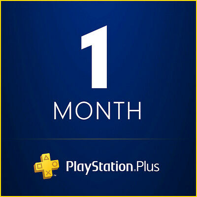 Playstation PS Plus 1 Month (2X14) Trial code Worldwide
