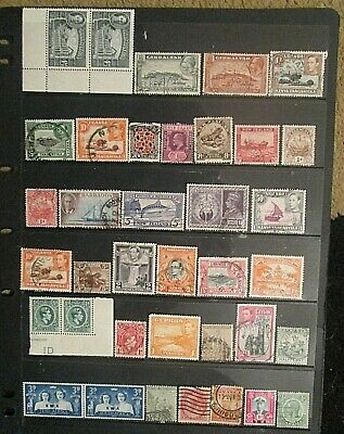BRITISH EMPIRE  QV.-KGVI mixed mint and used lot 11