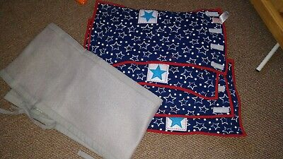 Breathable Cot Bumper, And Handmade Wraps
