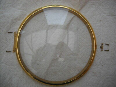 A Good Clean Brass Bezel And Convex Glass For A Smiths Enfield Mantel Clock.