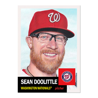 2019 TOPPS LIVING SET # 257 SEAN DOOLITTLE Washington Nationals PRE-SALE