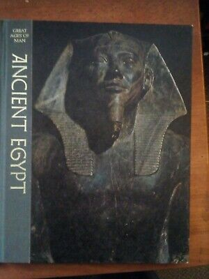 Ancient Egypt Time Life Great Ages of Man Series Hardcover Illustrated 1969