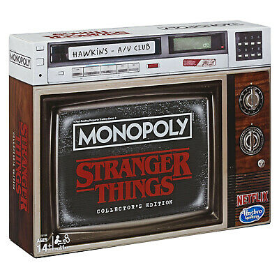 Stranger Things Monopoly Collector's Edition Board Game