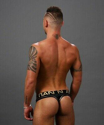 MidNight Thong By Andrew Christian Like Velvet Sensual SleepWear 91285 2