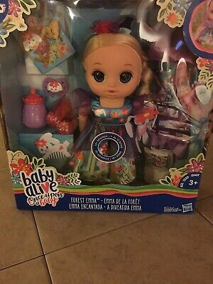 Baby Alive Once Upon a Baby Forest Tales Forest Emma New In Box