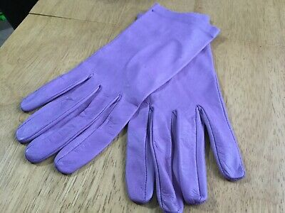 Ladies Soft Leather Gloves Size 7 1/2