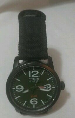 Citizen Eco-Drive Men's Watch Green BM8180-03E