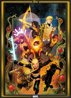 Topps Marvel Collect New Mutants #1 GOLD Comic Book Day Nov 6 19 [DIGITAL CARD]