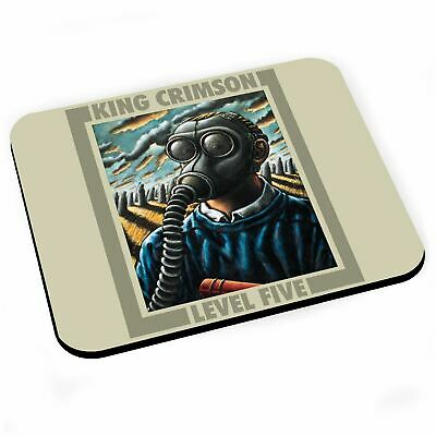 Tapis de Souris King Crimson Album Cover Level Five Rock 70's Vintage