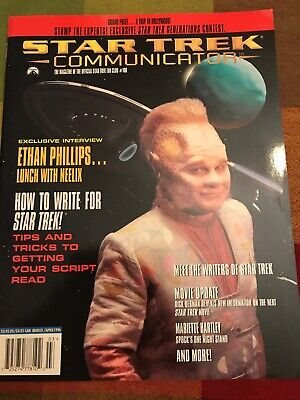 Vintage Star Trek Communicator Magazine Back Issue March/ April 1996 # 106