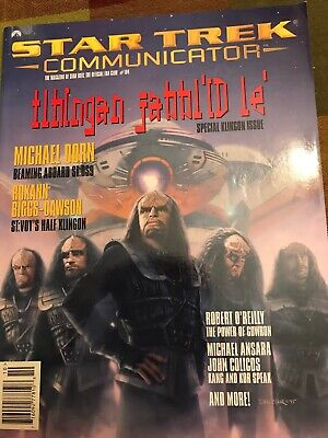 Vintage Star Trek Communicator Magazine Back Issue Oct/Nov. 1995  # 104