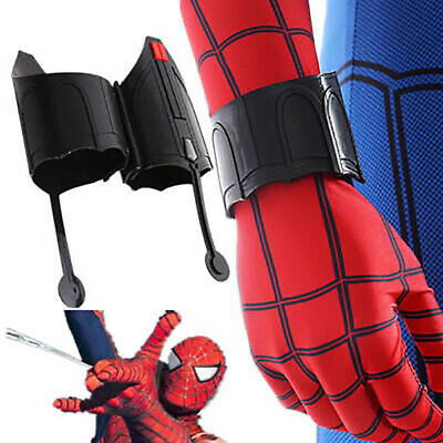 Spiderman Homecoming Peter Web Shooter Wrist Guard Spider Prop Christmas Cosplay