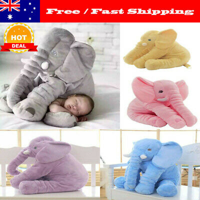 60cm Appease Elephant Pillow Soft Sleeping Stuffed Animals Plush Toys for Baby