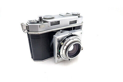 Agfa Carat 36 Synchro Compur with Heligon Rodenstock 50mm/2