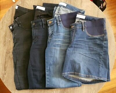 Bulk Ripe Maternity Jeans Under Belly Shorts Denim