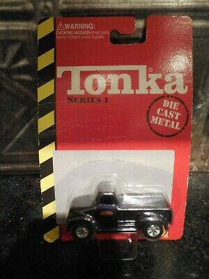 TONKA Blue Pick-Up Truck Die Cast Metal Series 1 by Maisto 1998 *Free Shipping*