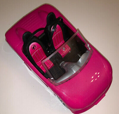 Barbie Glam Pink Beach Convertible Car Mattel 2013