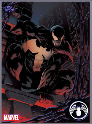 2019 TOPPS SHOWCASE VENOM #8 Topps Marvel Collect Digital Card