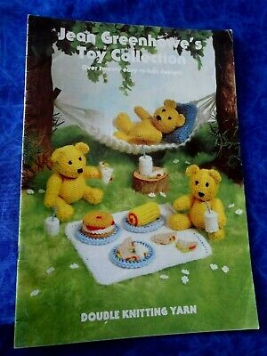 Jean Greenhowe's Toy Collection Over Twenty Easy To Knit Designs