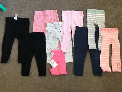 Girls size 1 leggings bundle