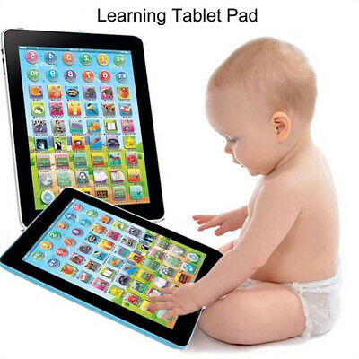 Kids Children Tablet Pad Educational Learning Toys For Boys Girls Baby Gifts New