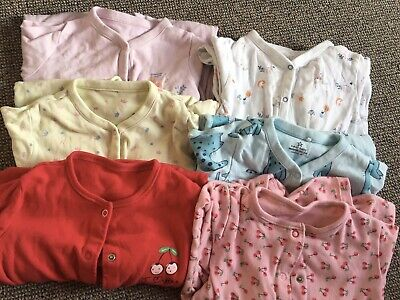 baby girl Sleepsuits 12-18 Months Next