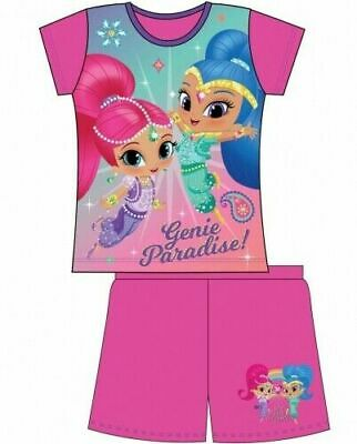 Shimmer and Shine Pyjamas Toddlers Childrens Kids Girls PJs Age 18 Month-5 Years