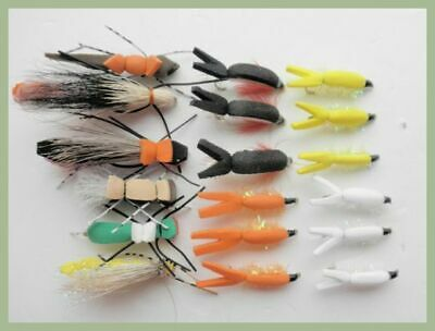 Named Varieties For Fly Fishing Wet Trout Flies 18 Pack Mixed Size 10-14