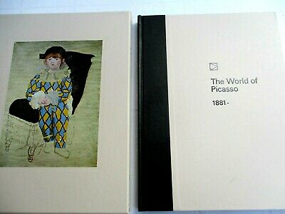 Time Life Library Of Art:..the World Of Picasso..hardback..slipcase..nr Mint
